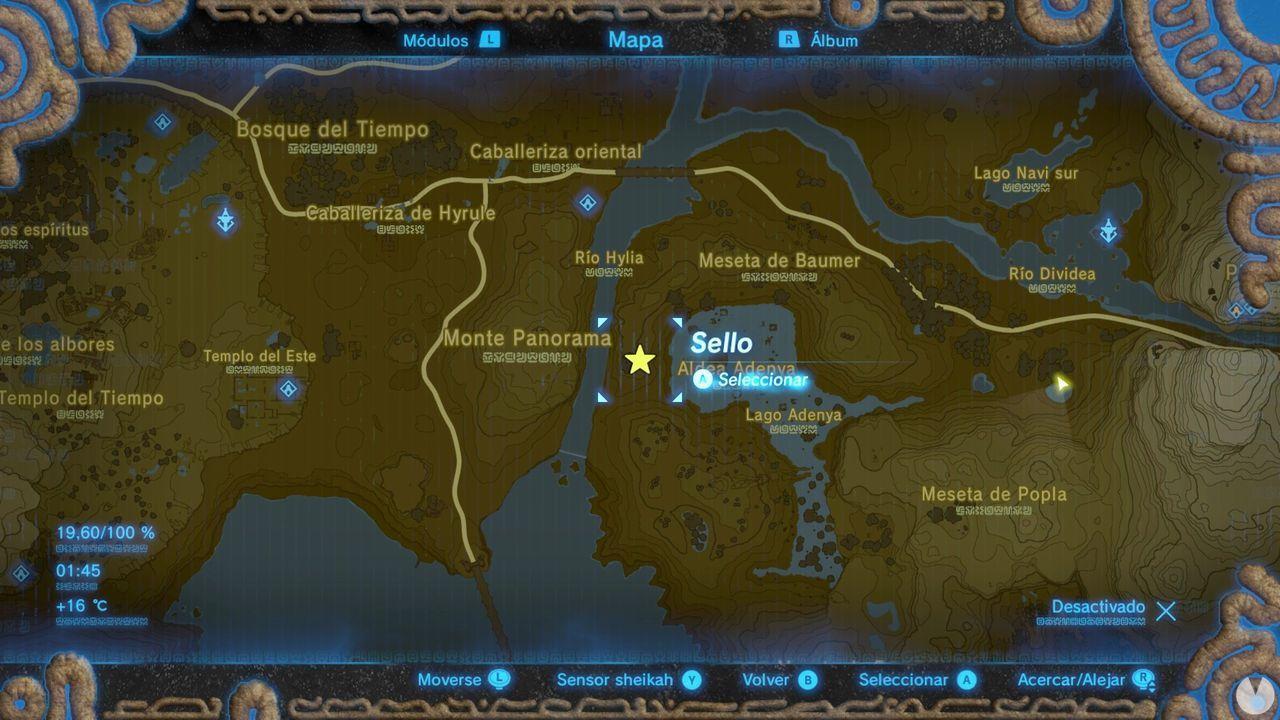 Zelda Breath of Wild Recuerdo en imágenes Recuerdo 7