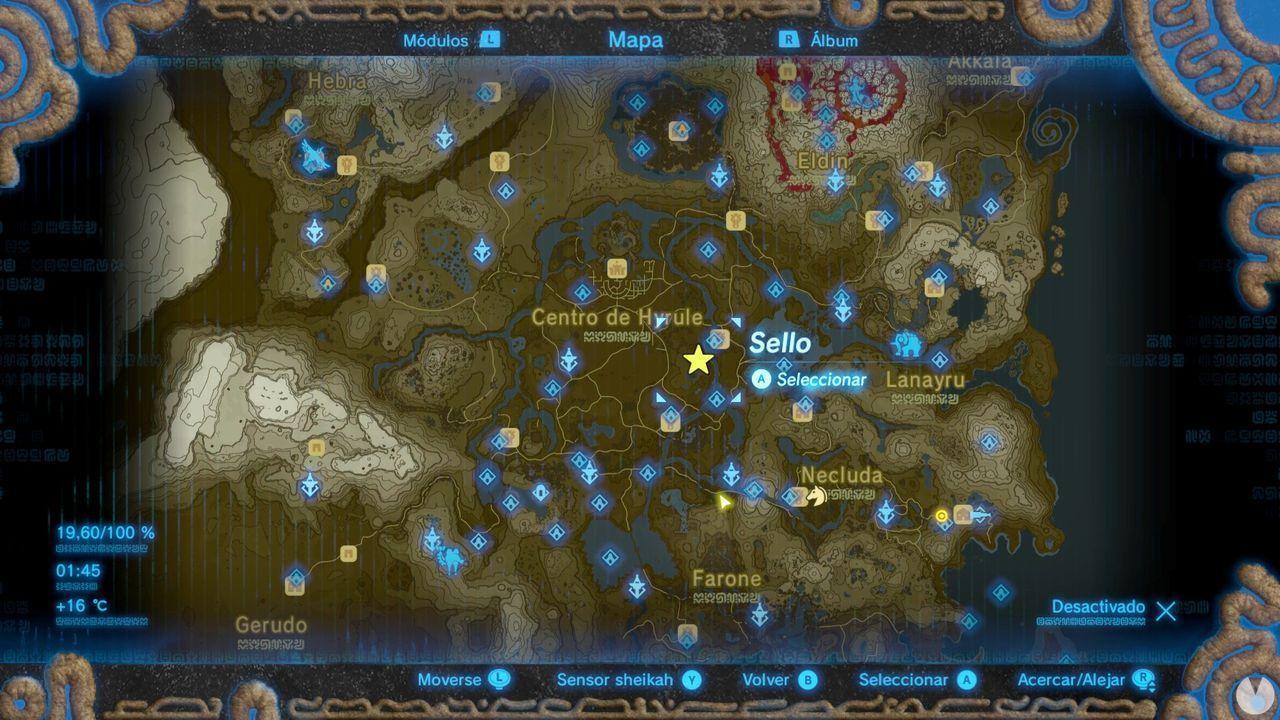 Zelda Breath of Wild Recuerdo en imágenes Recuerdo 12