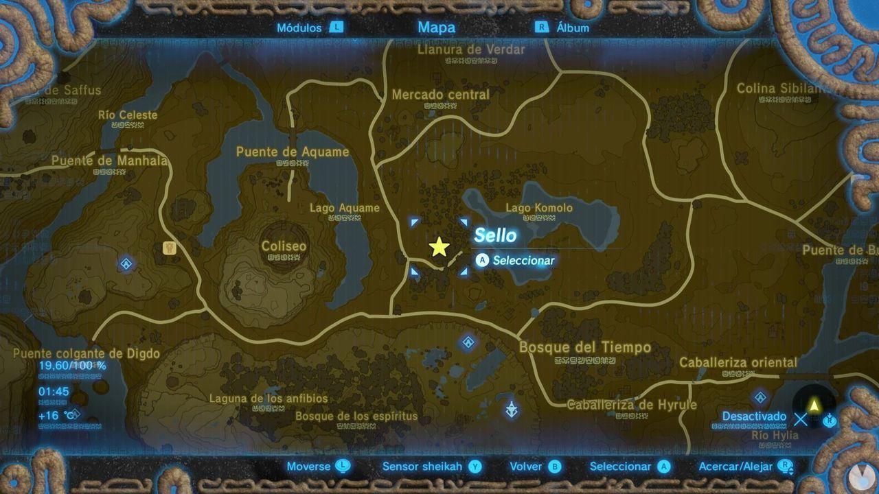 Zelda Breath of Wild Recuerdo en imágenes Recuerdo 2
