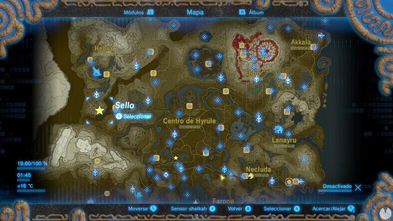 Zelda Breath of Wild Recuerdo en imágenes Recuerdo 3