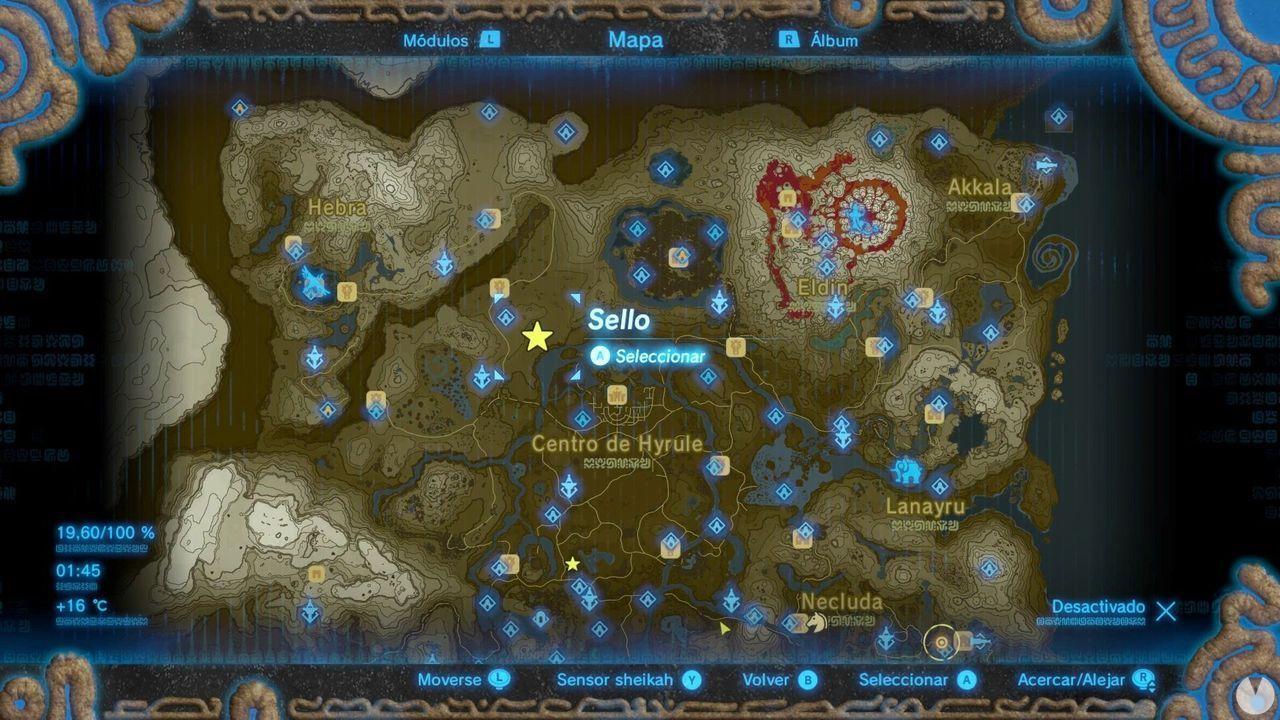 Zelda Breath of Wild Recuerdo en imágenes Recuerdo 6