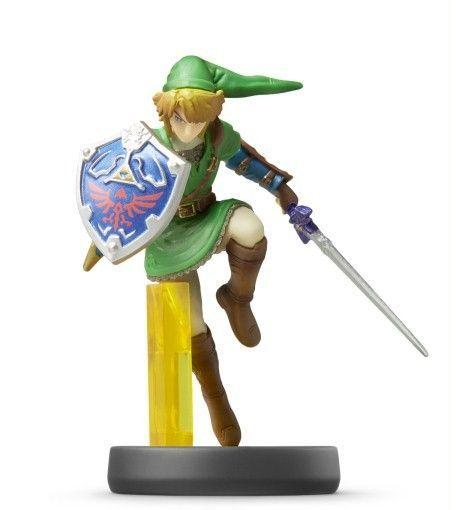 Amiibo Link Smash Bros.