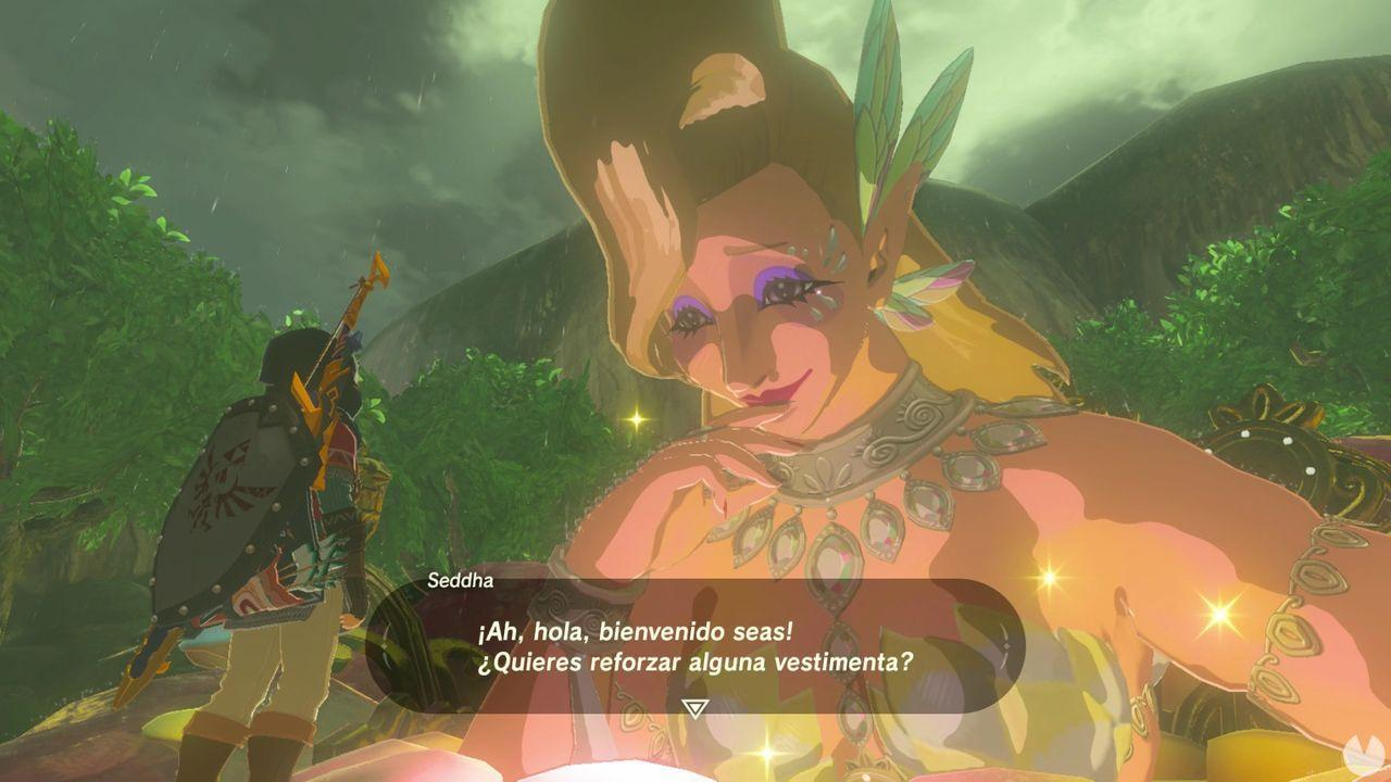 Fuentes de la gran hada en Zelda: Breath of the Wild