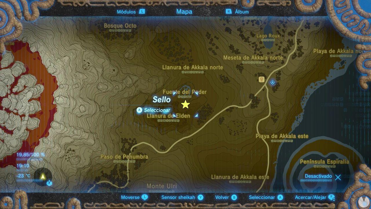 Espírutu Elden Zelda Breath of Wild Fuente de poder