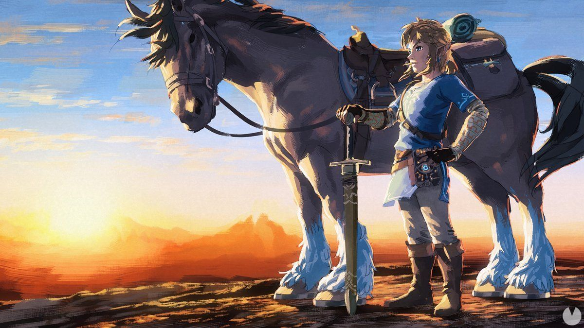 Caballos en Zelda: Breath of the Wild