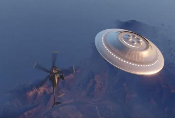 UFO/ Ovni sobre el campamento hippie de Shandy Shores