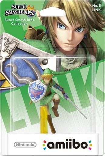 Amiibo Link Smash Bros.