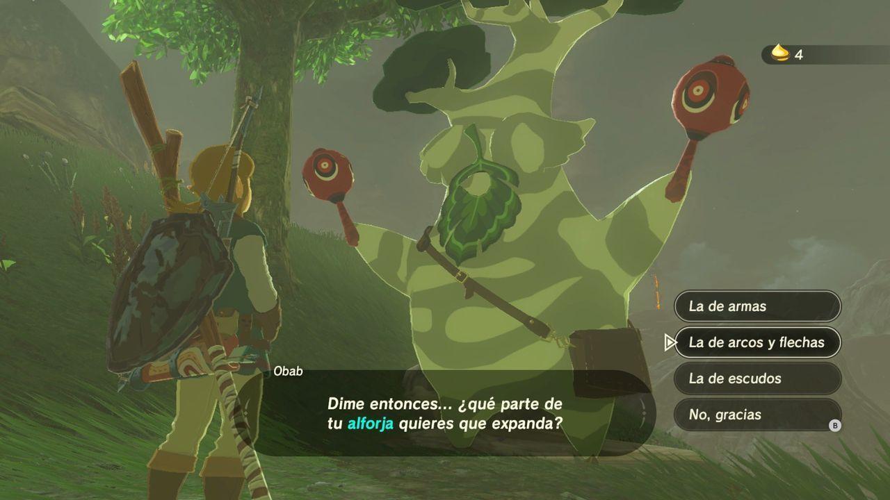 Semillas Kolog en Zelda: Breath of the Wild