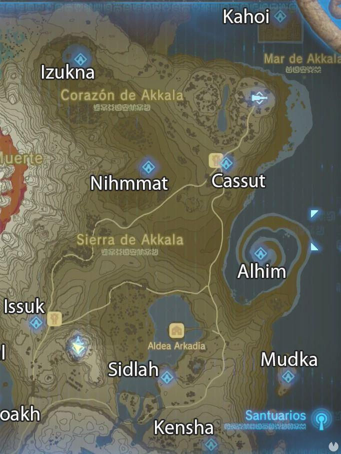 Santuarios de Akkala Zelda Breath of the Wild