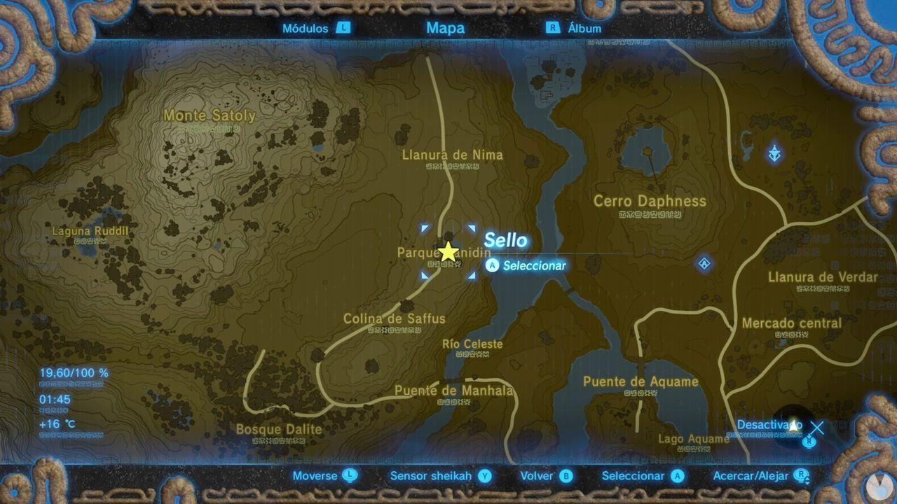 Zelda Breath of Wild Recuerdo en imágenes Recuerdo 10