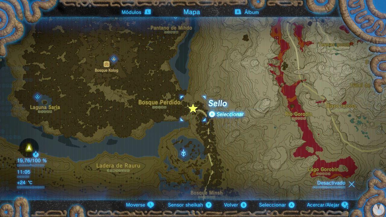 Conseguir la espada maestra en Zelda: Breath of the Wild