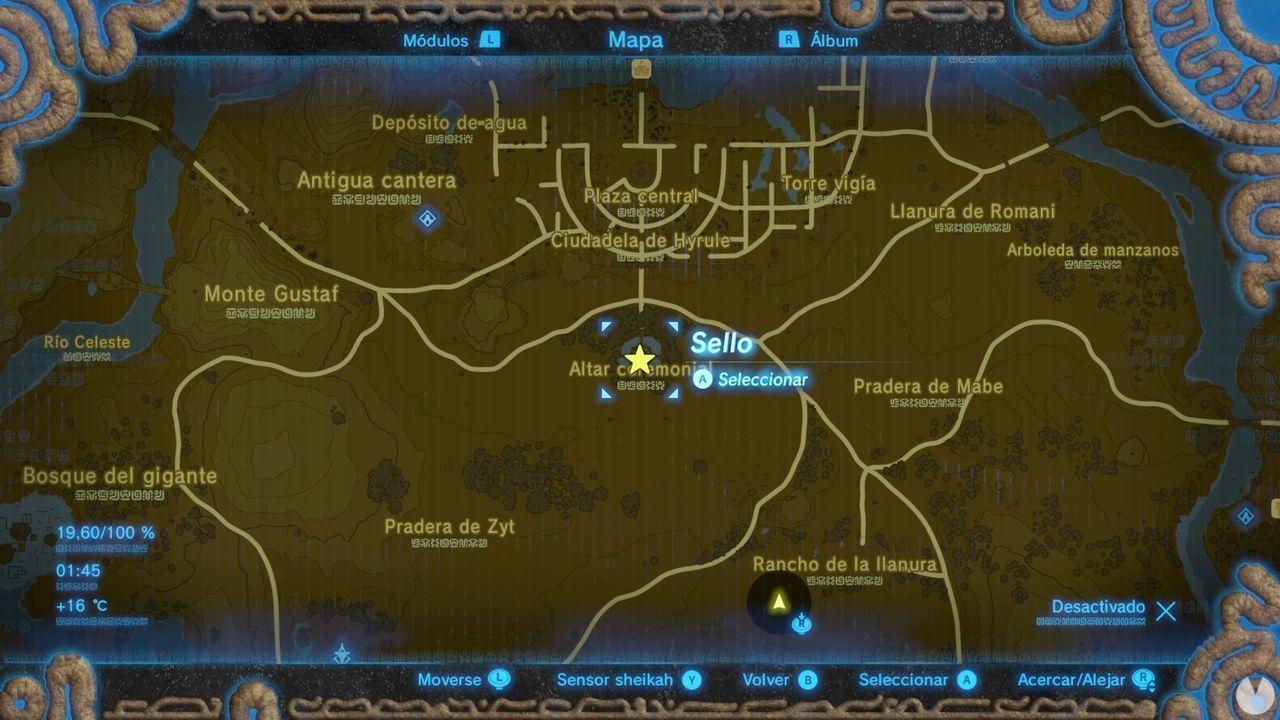 Zelda Breath of Wild Recuerdo en imágenes Recuerdo 1