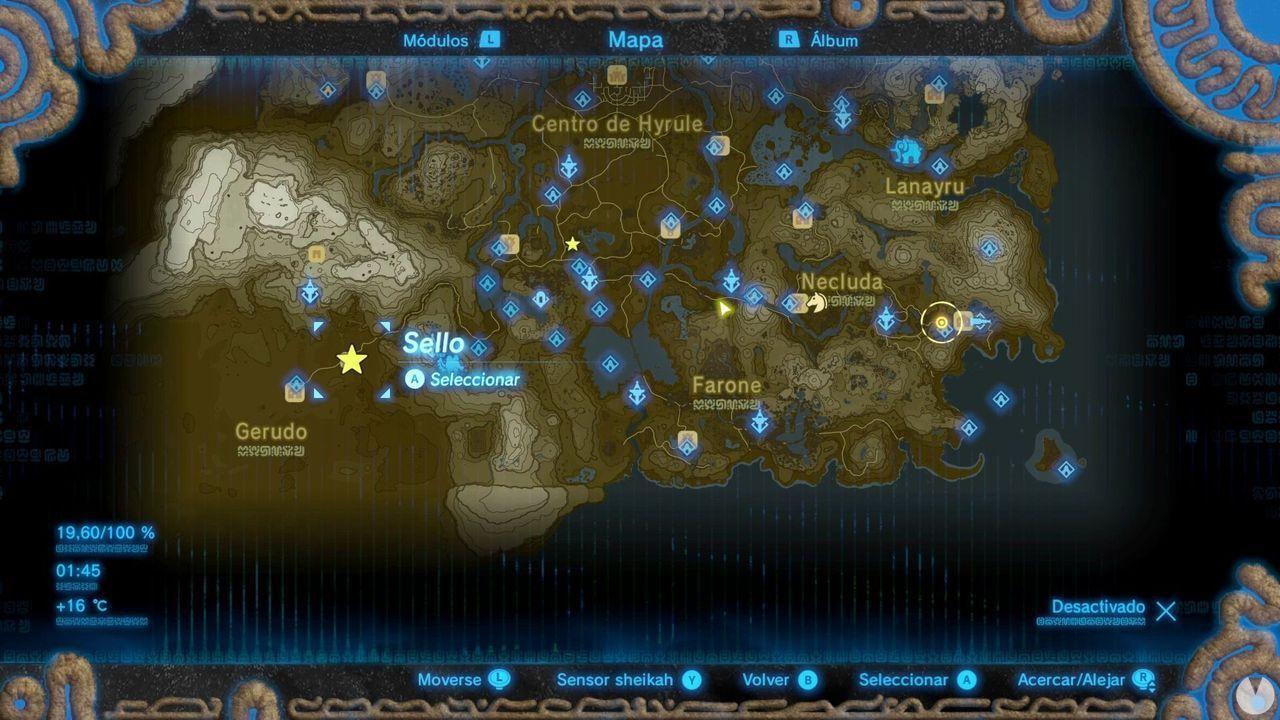 Zelda Breath of Wild Recuerdo en imágenes Recuerdo 4