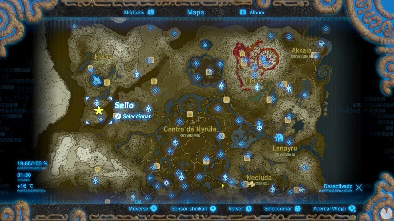 Fuente de la Gran Hada de Laniah en Zelda: Breath of the Wild