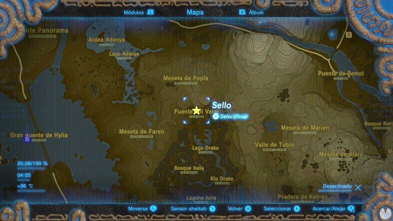 Espírutu Faren Zelda Breath of Wild Fuente de valor